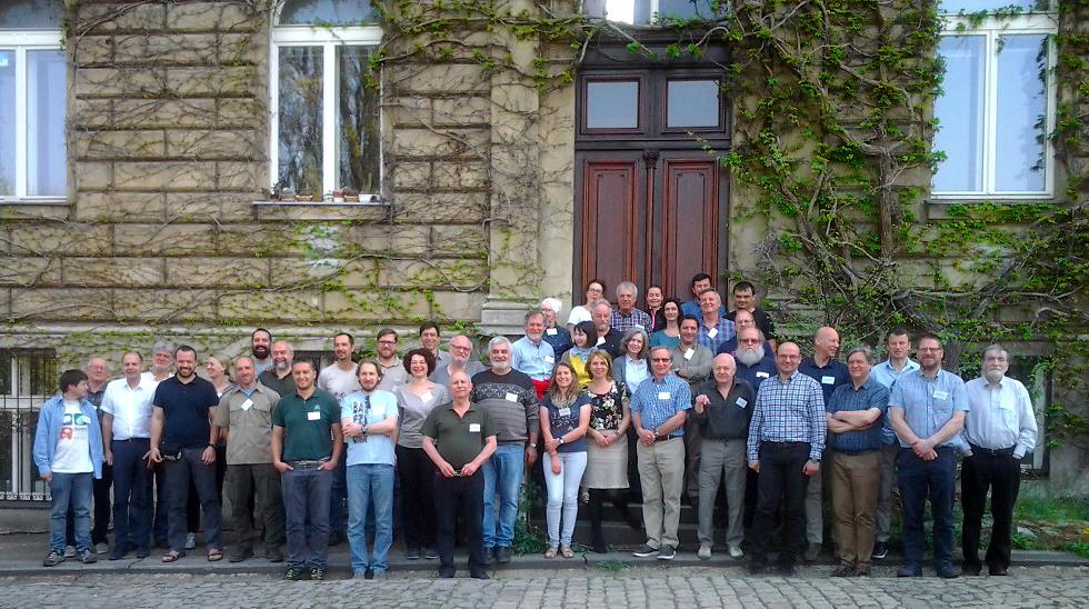 Prague attendees (Photo: Laurent Schley)