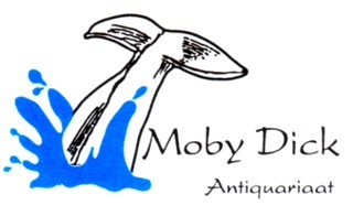 Logo Moby Dick Antiquarian, The Netherlands