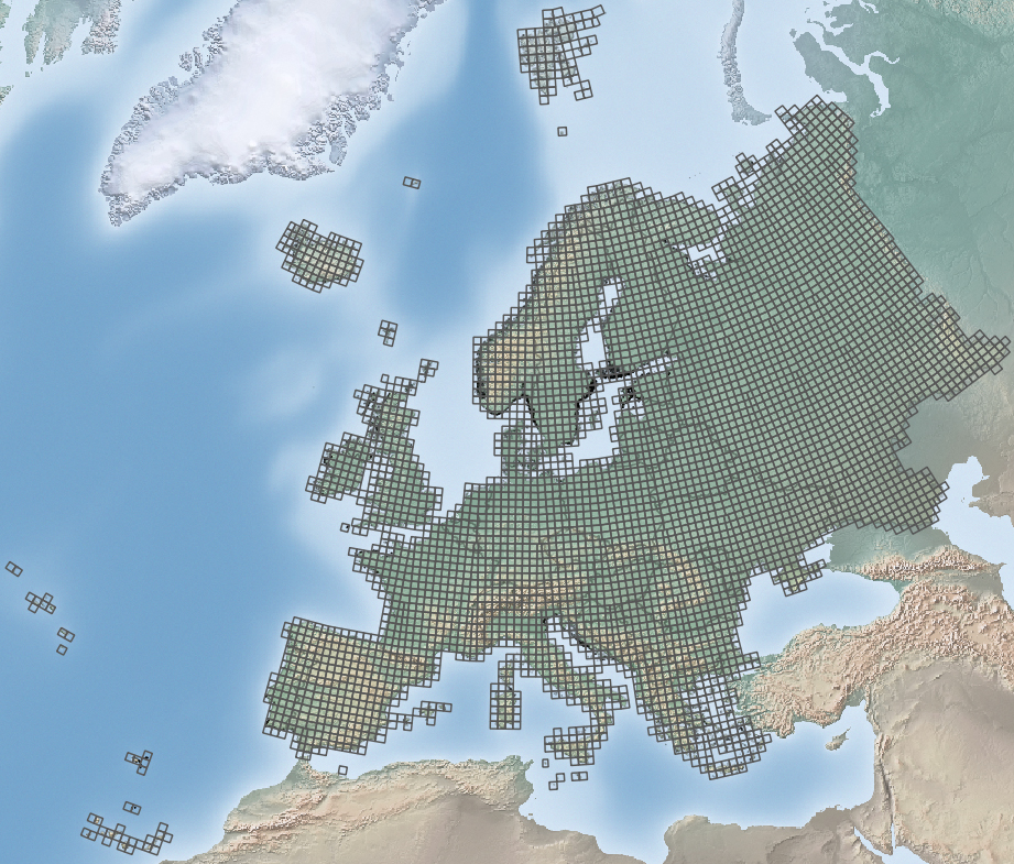 Area covered by EMMA2